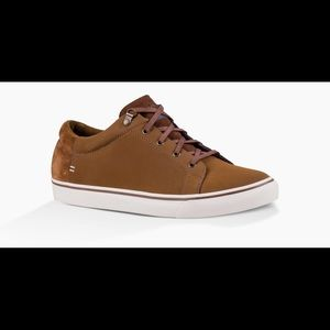 NEW!! Men's Uggs Brock Sneakers Dark Chestnut