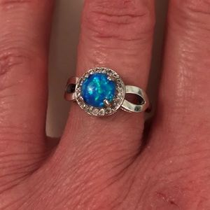 Jewelry - Faux Opal Costume Jewelry Ring