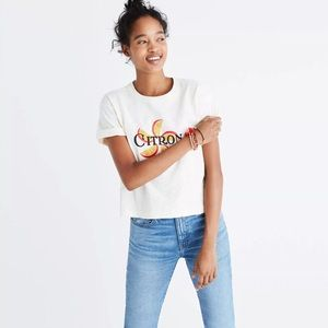 MADEWELL CITRON GRAPHIC T-SHIRT