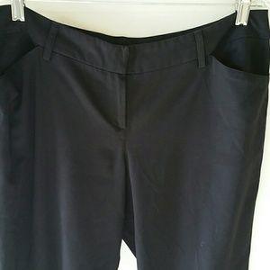 LARRY LEVINE STRETCH DRESS PANTS.