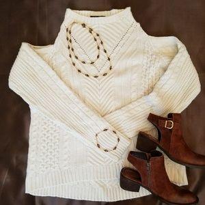 Lane Bryant Cold Shoulder Sweater