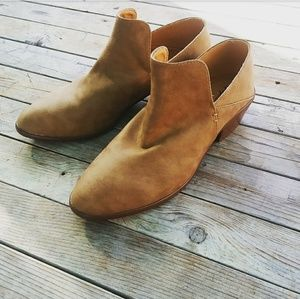 Shoes - LAST PAIR!!//The Rori// Camel ankle bootie