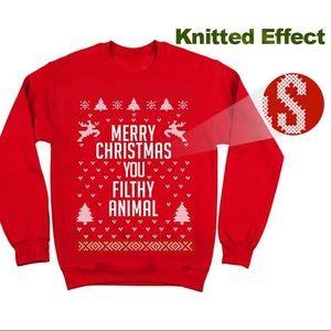 Other - Merry Christmas YA filthy animal Christmas sweater