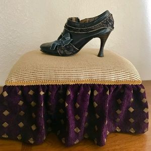 Upholstered Moroccan Style Footstool