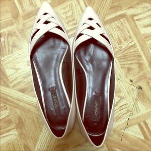 Zara pointed flats