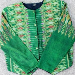 Thai Silk Ikat Jacket
