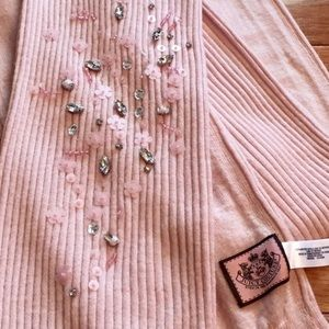 Authentic Juicy Couture Beaded Scarf