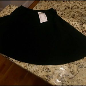 Black Skater Skirt