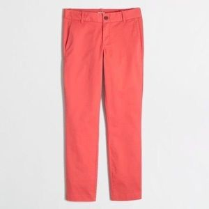J.Crew Frankie Chino Stretch Crop Pants