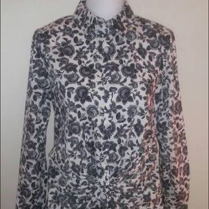 Thakoon for Design Nation floral L/S button down
