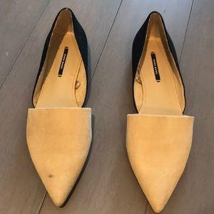 Zara Two Tone Flats