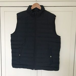J.Crew Factory Men's Down Vest, Large