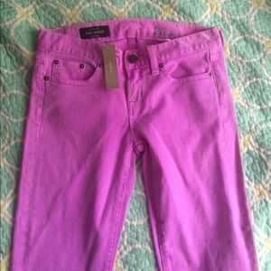 J.Crew Toothpick Jeans Cropped Size 25