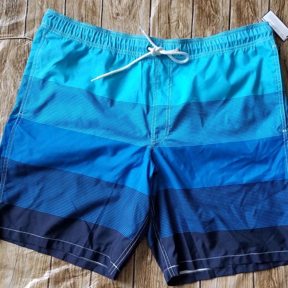 2e533aad93 GAP Swim | New Mens Suit Trunks Pool Stretch Sz Xxl | Poshmark