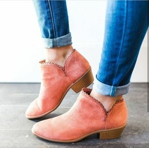 🆕// The Wendy// Dusty pink ankle booties