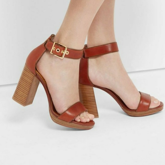 7763ed0bf123 Ted Baker Lorno Leather Block Heel Sandals