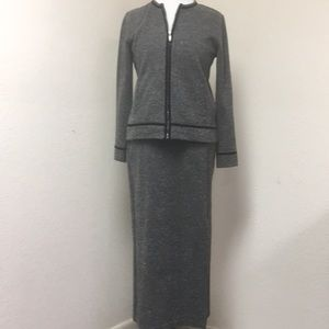 ❤️Emma James Tweed Skirt Suit
