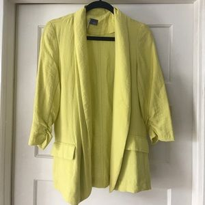 Sparkle & Fade Yellow Blazer