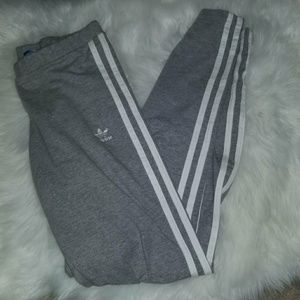 Grey Adidas leggings