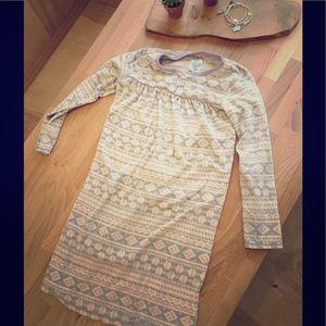 Girls fleece nightgown