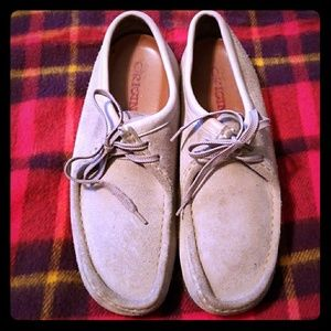 Original Clark's Wallabees moccasin loafers 10