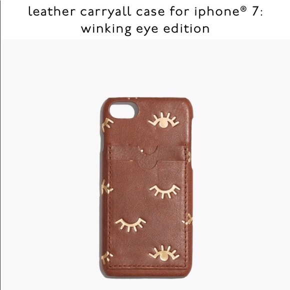 timeless design 6b5ec 117d4 Madewell iPhone 7 Case NWT