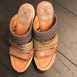 Size 9 Lucky Brand shoes