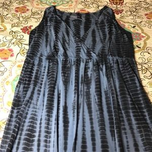 Calvin Klein tie dye dress