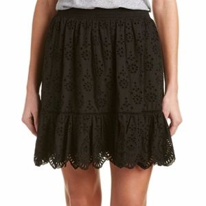 New REBECCA TAYLOR $350 Eyelet Skirt lace 4