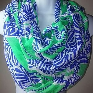 Lilly Pulitzer I Herd You Zebra Scarf