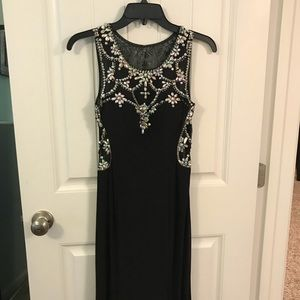 Black Betsy Adams dress