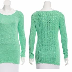 New RACHEL ZOE Karla Open Knit Sweater