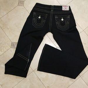 Black True Religion pants