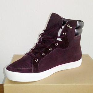 Sz 10 Joie DEVON Purple High-Top Sneaker