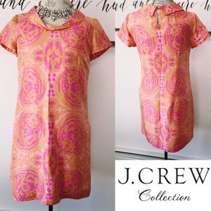 J. Crew Collection Silk Mod Shift Dress