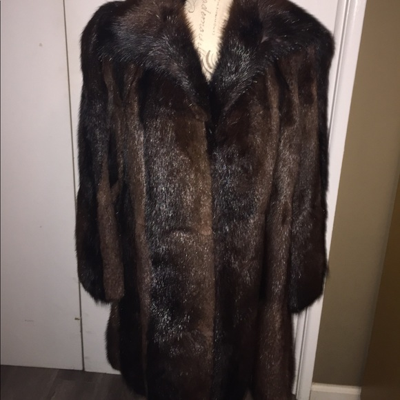 new varieties hot-selling authentic 100% top quality FINAL PRICE! Vintage Mink Coat