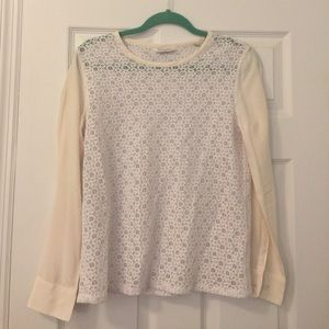 Equipment Liam Lace Shirt