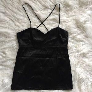Diane Von Furstenberg Black Camisole Tank Top 2