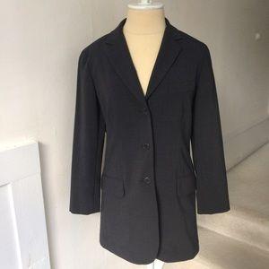 Theory Wool Combo 3 Button Blazer NWOT