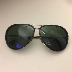 Tom Ford Cyrille Aviator Sunglasses FT0109 28K 63