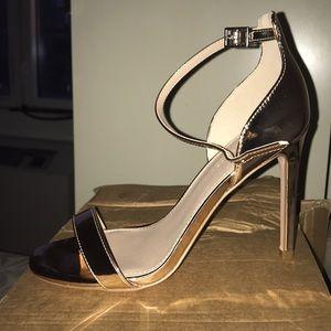 BNIB asos metallic heel