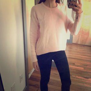 LULULEMON pale pink sweater size 4