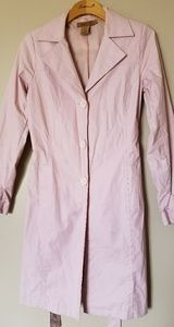 Arden B Pink Trench Coat