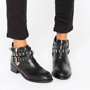 Buckle Strap Ankle Boot - ASOS