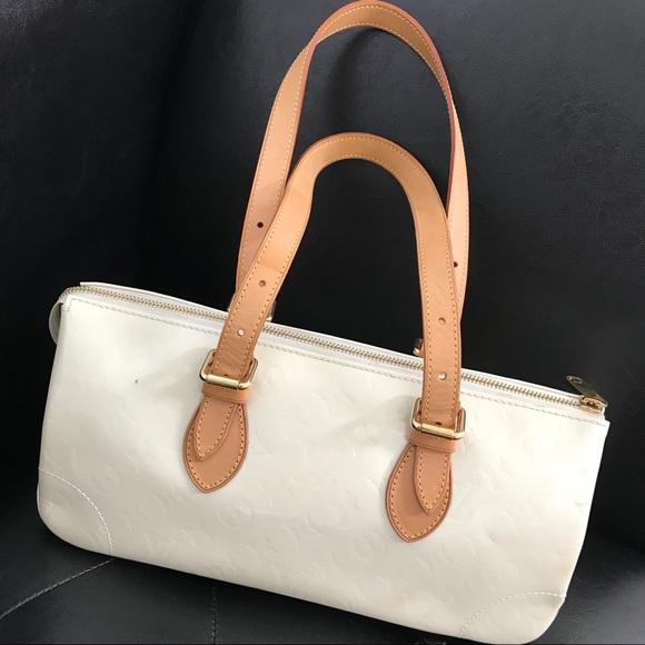 809c25488cd Louis Vuitton Bags   Authentic White Triangle Bag   Poshmark