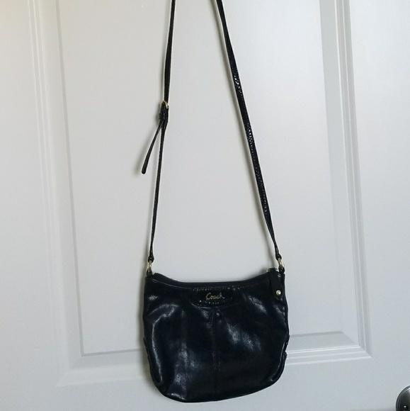 e743ee251b Coach long strap bag