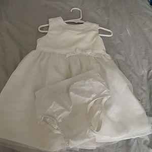 Carter's holiday dress. 18m