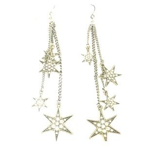 Chicago star earrings. Statement earrings