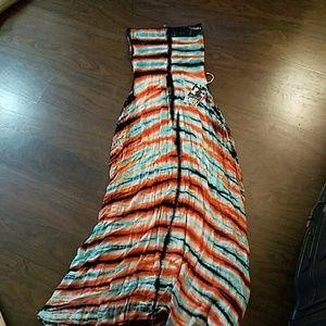Young Fabulous and broke,  tie dye maxi dress