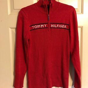 Tommy Hilfiger logo zip up